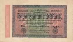 Image #1 of 20 000 Mark 1923 (20. II.) - 3