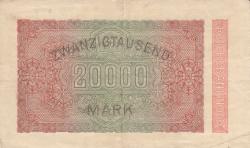 Image #2 of 20 000 Mark 1923 (20. II.)