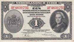 Imaginea #1 a 1 Gulden 1943 (2. III.) - 2
