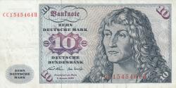 Image #1 of 10 Deutsche Mark 1970 (2. I.) - 2