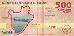 Image #1 of 500 Francs 2018 (4. VII.)