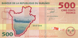 Imaginea #1 a 500 Franci 2018 (4. VII.)