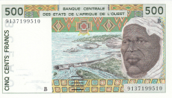 Image #1 of 500 Francs (19)91