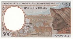 Image #1 of 500 Francs (19)99