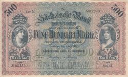 Image #1 of 500 Mark 1922 (1. VII.) - Ser. II