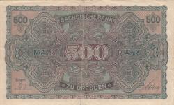 Image #2 of 500 Mark 1922 (1. VII.) - Ser. II