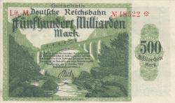 Image #1 of 500 Milliarden (500 000 000 000) Mark 1923 (15. X.)