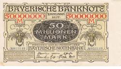 Image #1 of 50 Millionen (50 000 000) Mark 1923 (20. VIII.)