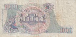 Image #2 of 1000 Lire 1962 (14. VII.)