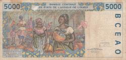 5000 Francs (19)95
