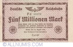Image #1 of 5 000 000 Mark 1923 (22. VIII.)