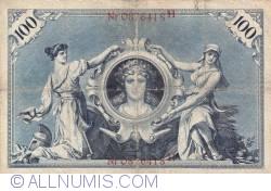 Image #2 of 100 Mark 1898 (1. VII.)
