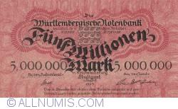 Image #1 of 5 Millionen (5 000 000) Mark 1923 (1. VIII.)