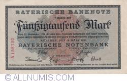 Imaginea #1 a 50 000 Mark 1923 (15. III.)