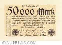 Image #1 of 50 000 Mark 1923 (9. VIII.)