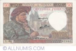 Image #1 of 50 Francs 1941 (18. XII.)