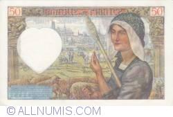 Image #2 of 50 Francs 1941 (18. XII.)