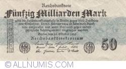 Image #1 of 50 Milliarden (50 000 000 000) Mark 1923 (26. X)