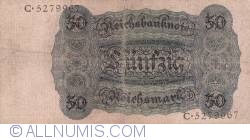 Image #2 of 50 Reichsmark 1924 (11. X.)