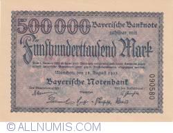 Image #1 of 500 000 Mark 1923 (18. VIII.)