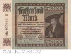 Image #1 of 5000 Mark 1922 (2. XII.)