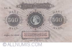Imaginea #2 a 500 Mark 1875 (31. III.)