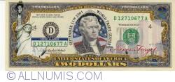 Image #1 of 2 Dollars - World Trade Center (Septembert 11Th 2001))