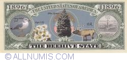 Image #2 of 1896 - State of Utah - The Beehive State (Series 2007)