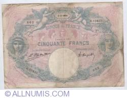 Image #1 of 50 Francs 1924 (05.03.1924)