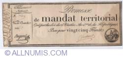 Image #1 of 25 Francs 28 Ventose An IV (18.3.1796)