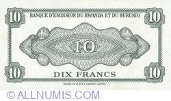 Image #2 of 10 Francs 1960 (15. IX.)