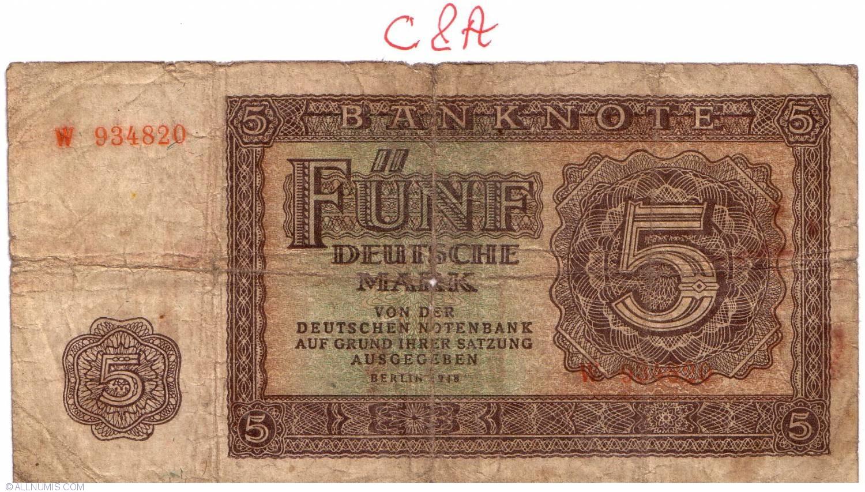 5 Deutsche Mark 1948