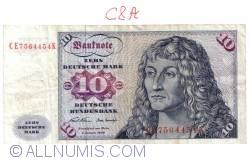 Image #1 of 10 Deutsche Mark 1970 (2. I) - 1