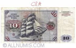 Image #2 of 10 Deutsche Mark 1970 (2. I) - 1
