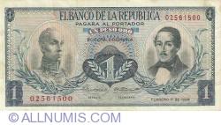 Imaginea #1 a 1 Peso Oro 1968 (1. II.)