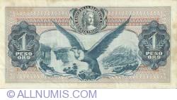 Imaginea #2 a 1 Peso Oro 1968 (1. II.)
