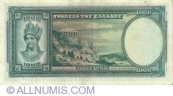 1000 Drachmai 1939 (1. I.)