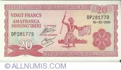 20 Franci 2005 (5. II.)