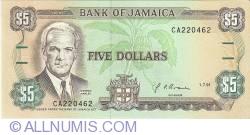 Imaginea #1 a 5 Dolari 1991 (1. VII.)