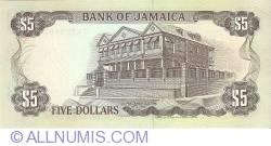 Imaginea #2 a 5 Dolari 1991 (1. VII.)