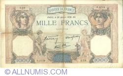 Image #1 of 1000 Francs 1939 (26. I.)