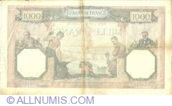 Image #2 of 1000 Francs 1939 (26. I.)