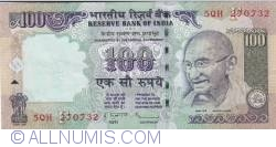 Image #1 of 100 Rupees 2011 - F