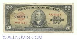 Imaginea #1 a 20 Pesos 1949