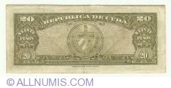Image #2 of 20 Pesos 1949