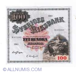 Image #1 of 100 Kronor 1961 - 1