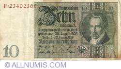 Image #1 of 10 Reichsmark 1929 (22. I.) - G