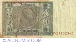 Image #2 of 10 Reichsmark 1929 (22. I.) - G