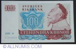 Image #1 of 100 Kronor 1981