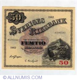 Image #1 of 50 Kronor 1962